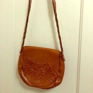 Patricia Nash Leather Bucket Purse